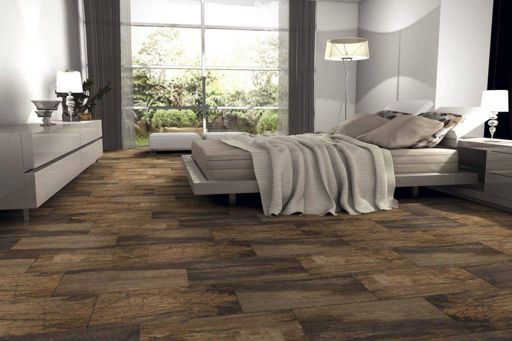 suelo procelanico madera