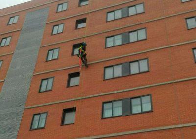 Impermeabilización fachada